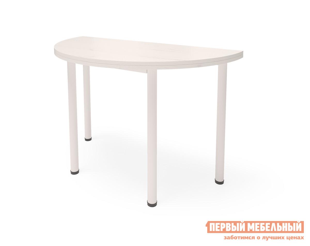 Обеденный стол Millwood Стол-консоль Далис 1 Дуб Белый Craft