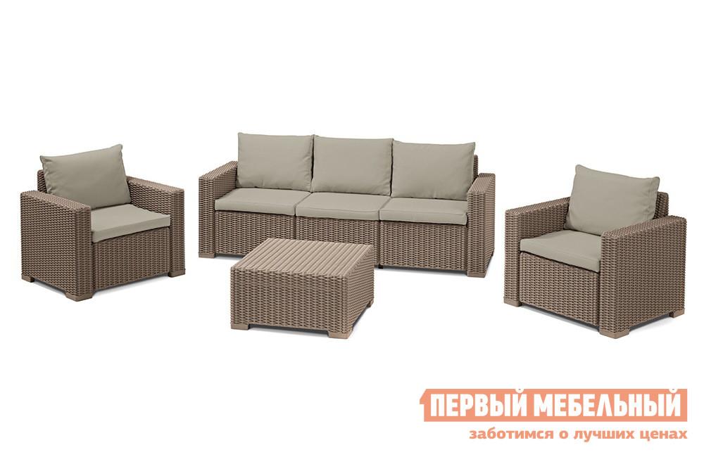 Комплект плетеной мебели Keter CALIFORNIA 3 SEATER SET 17198931 комплект плетеной мебели афина мебель т503sg y290вg w1289
