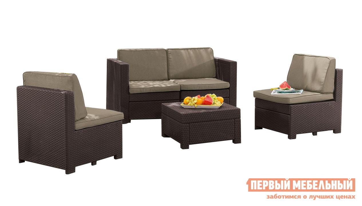 Комплект плетеной мебели Keter Комплект Modus set комплект мебели keter rio patio коричневый