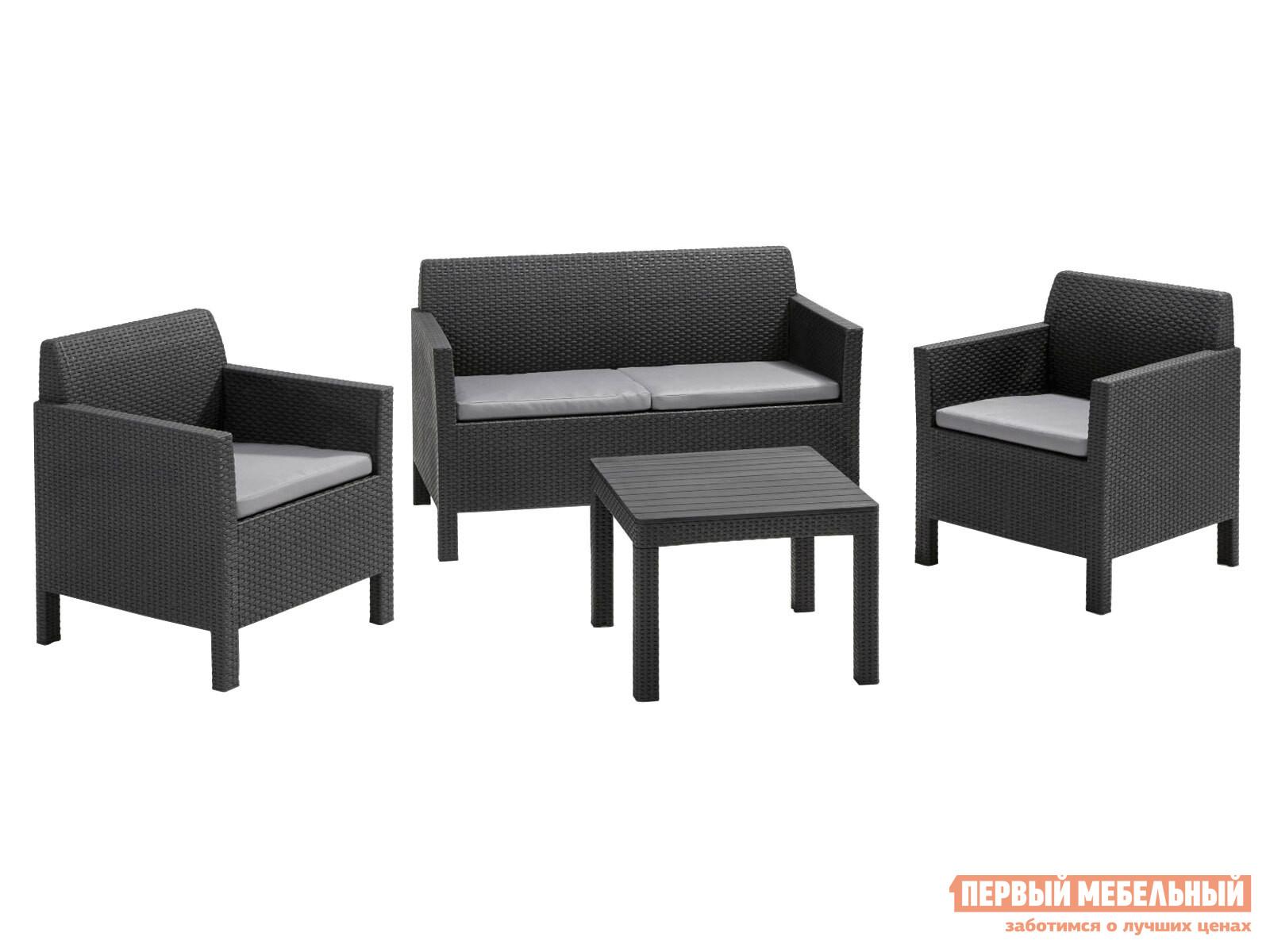 Комплект садовой мебели Keter 17202809 Комплект мебели Orlando set with small table