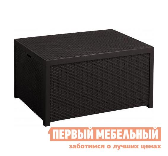 Плетеный стол Keter ARICA Rattan Table 17200570 Коричневый ротанг от Купистол