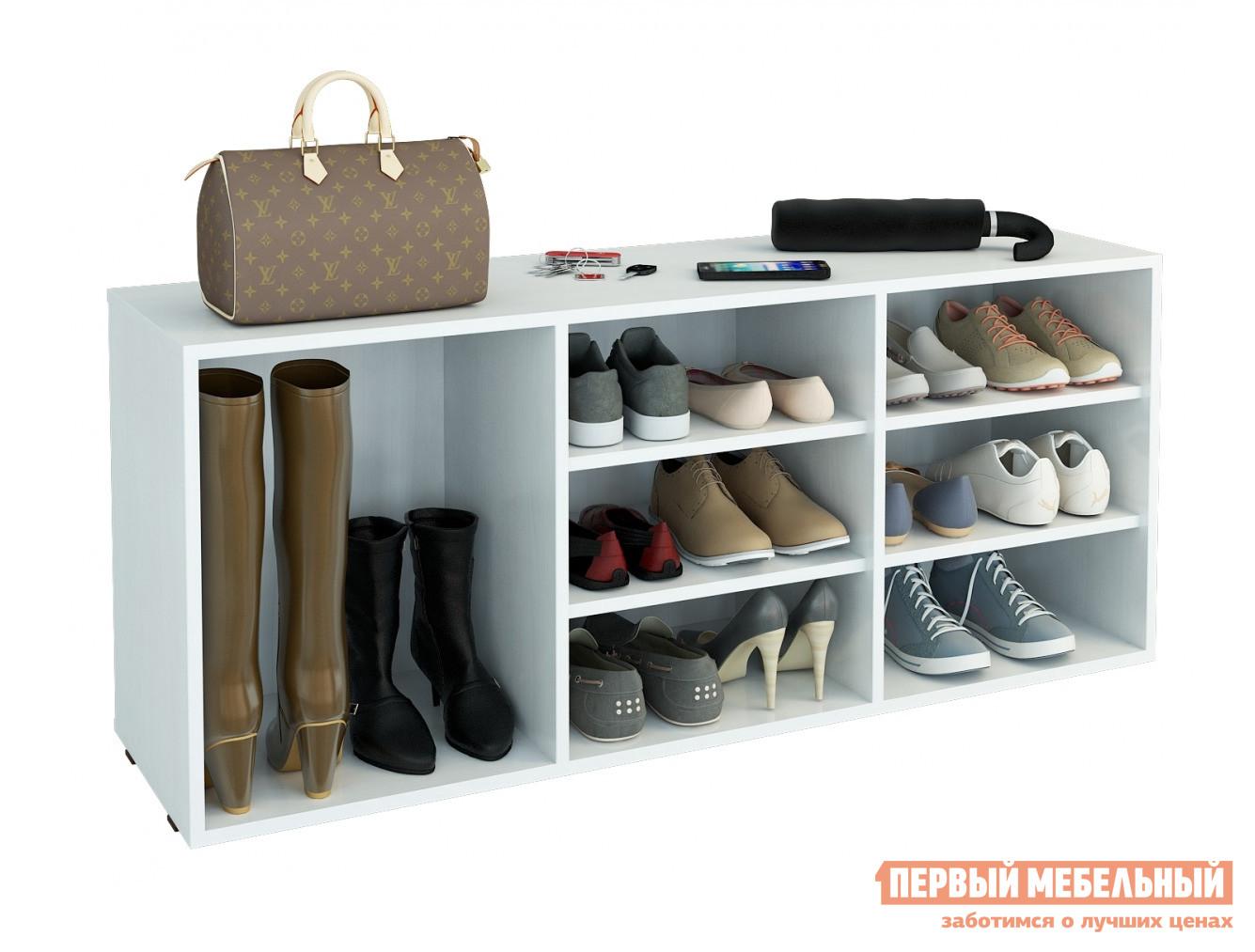 Обувница в классическом стиле МФ Мастер Лана-3 ПОЛ-3 (1С+2П)