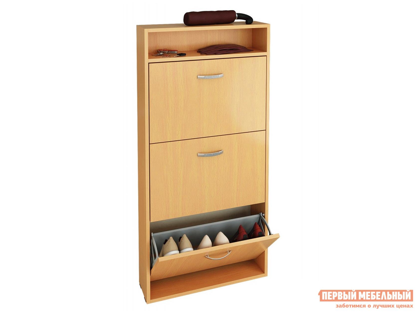Шкаф для обуви в прихожую узкий МФ Мастер Обувница