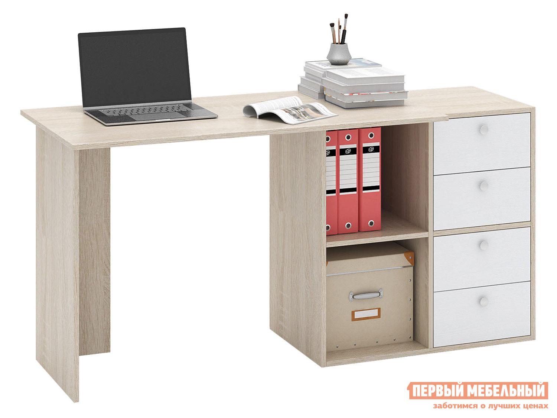 Письменный стол  Прайм-46 Дуб Сонома / Белый МФ Мастер 129003