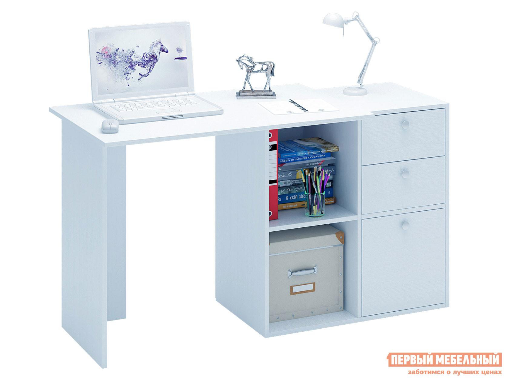 Письменный стол  Прайм-39 Белый МФ Мастер 128958
