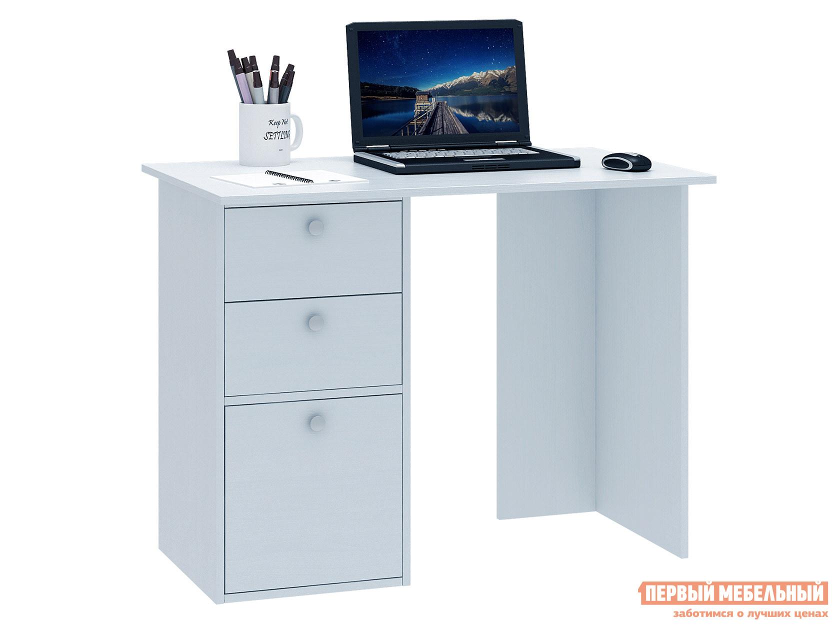Письменный стол  Прайм-35 Белый МФ Мастер 128933