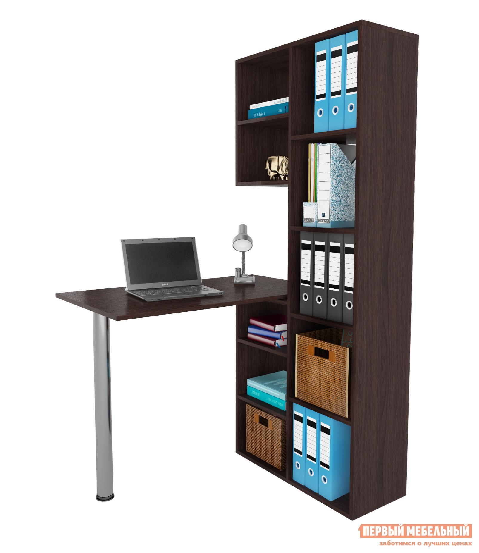 Угловой компьютерный стол МФ Мастер Рикс-2 + Рикс-6 компьютерный стол со стеллажом мф мастер 2 шт рикс 4 2 шт рикс 6