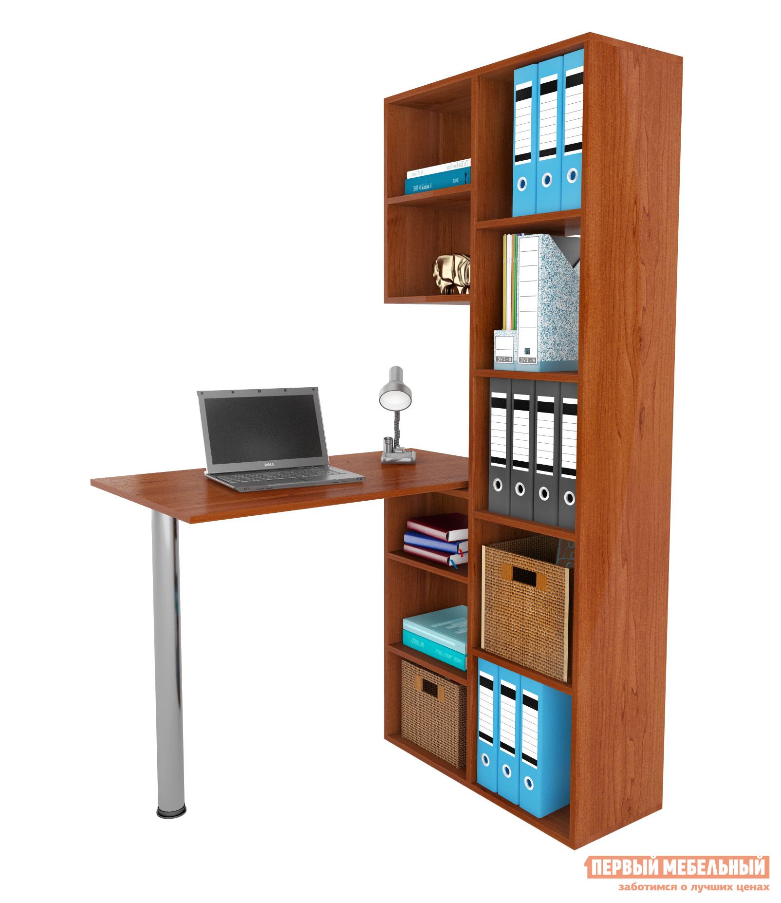 Компьютерный стол МФ Мастер Рикс-2 + Рикс-6 Орех Итальянский