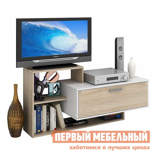 ТВ-тумба МФ Мастер Арто-7 Белый / Дуб сонома
