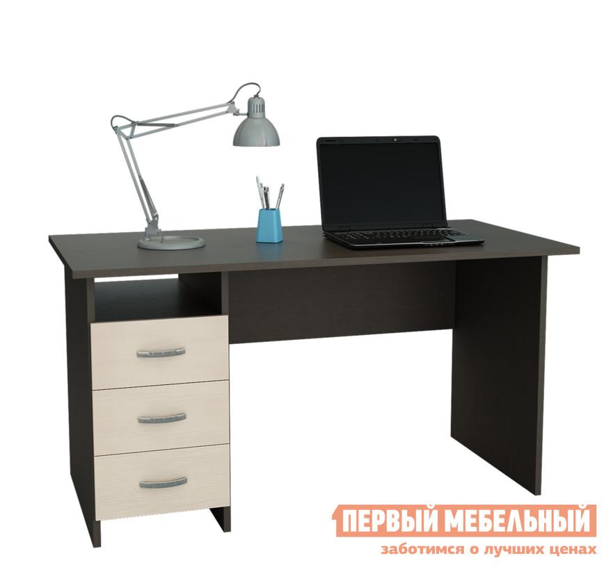 Компьютерный стол МФ Мастер Прато Венге / Дуб Молочный