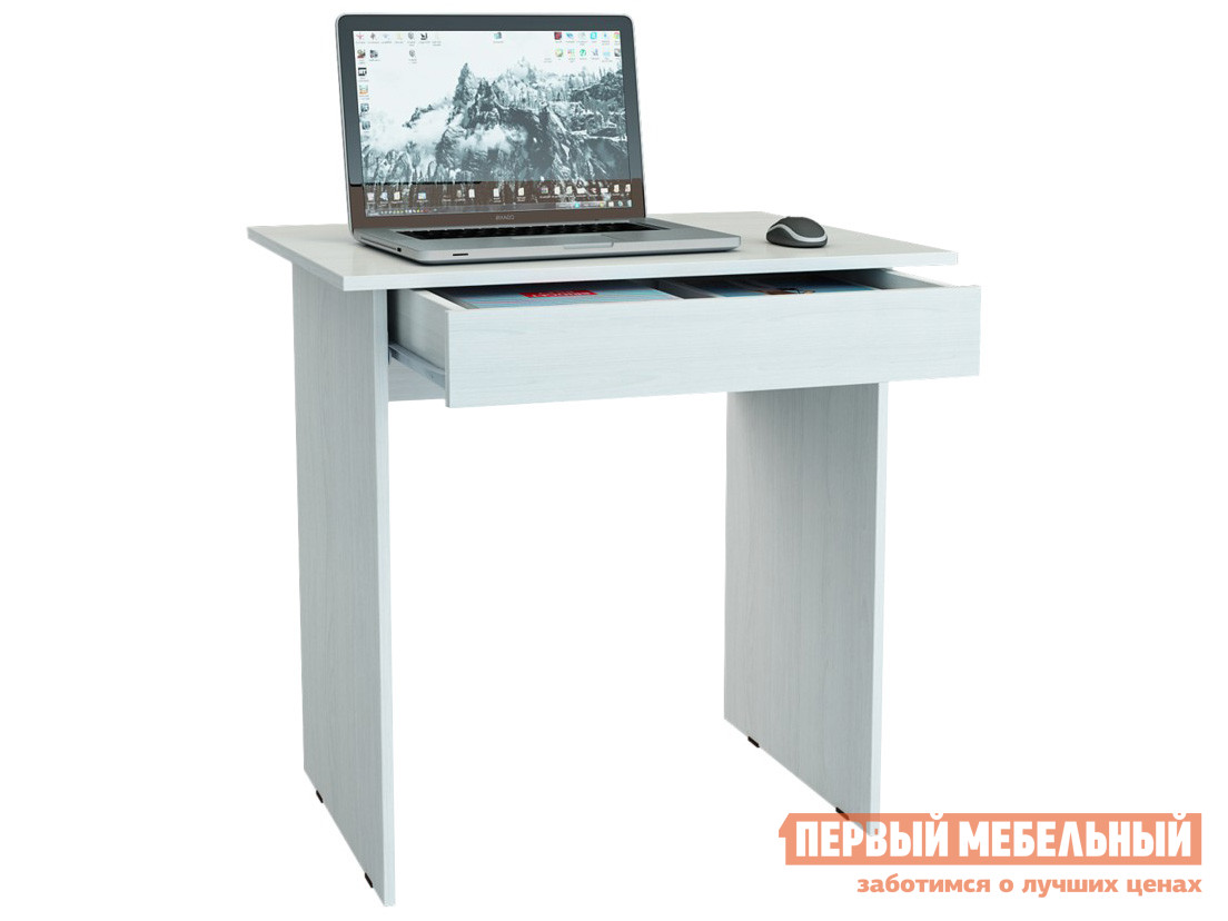 Письменный стол  Милан-2Я Белый МФ Мастер 73332