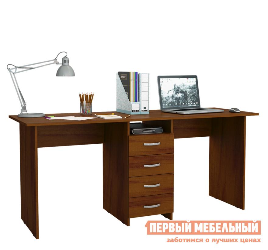 Компьютерный стол МФ Мастер Тандем-2 Орех