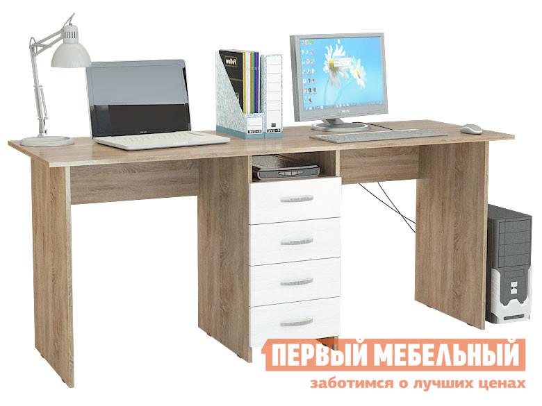 Компьютерный стол МФ Мастер Тандем-2