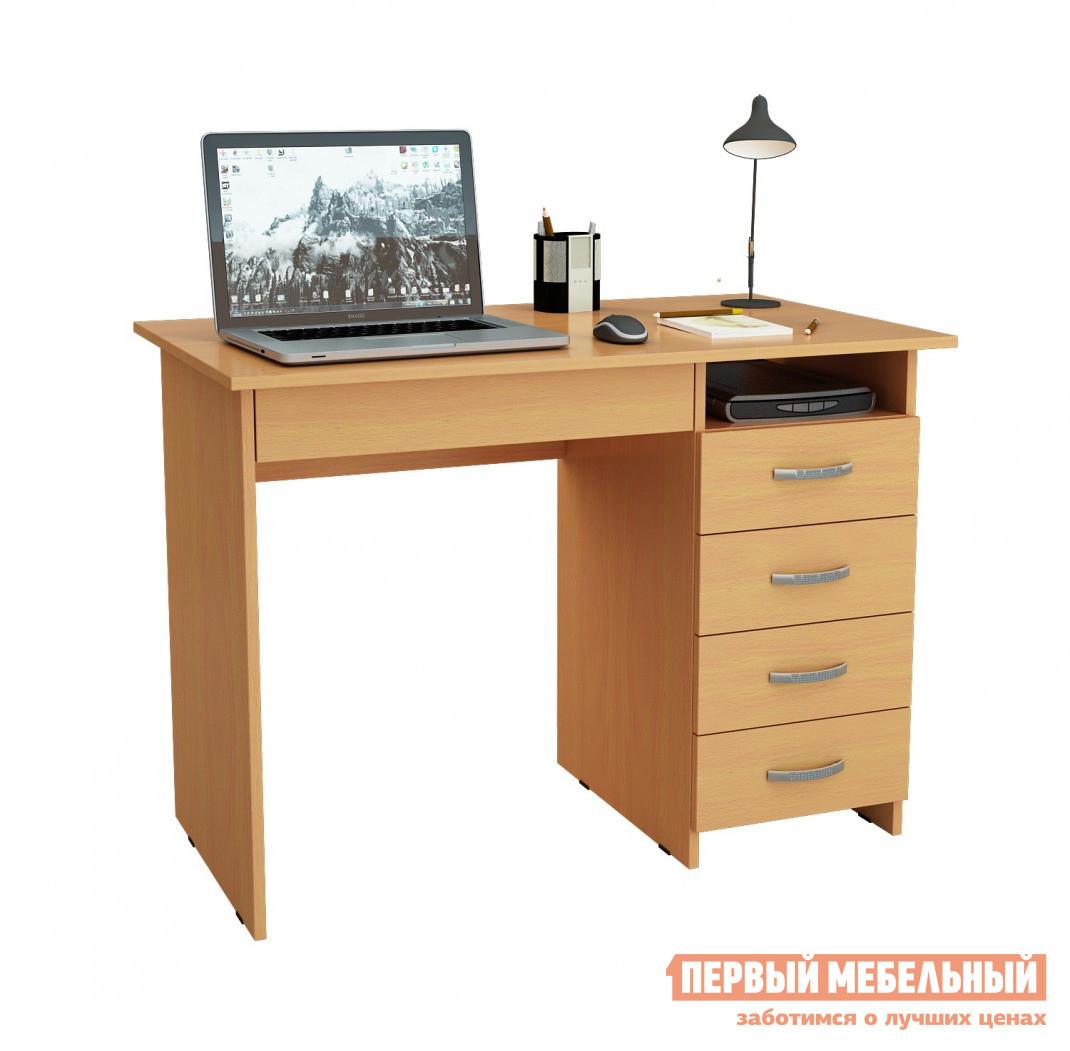Компьютерный стол МФ Мастер Милан-1 Бук, Левый