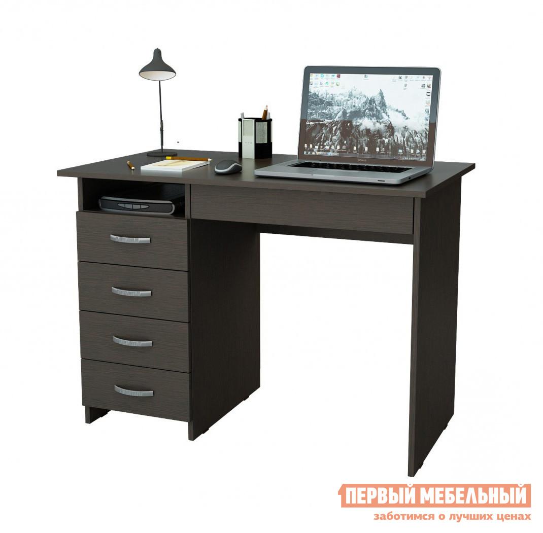 Компьютерный стол МФ Мастер Милан-1 Венге, Правый
