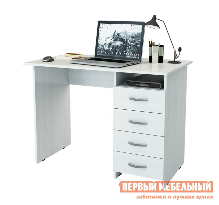 Стол для компьютера МФ Мастер Милан Белый, Правый от Купистол