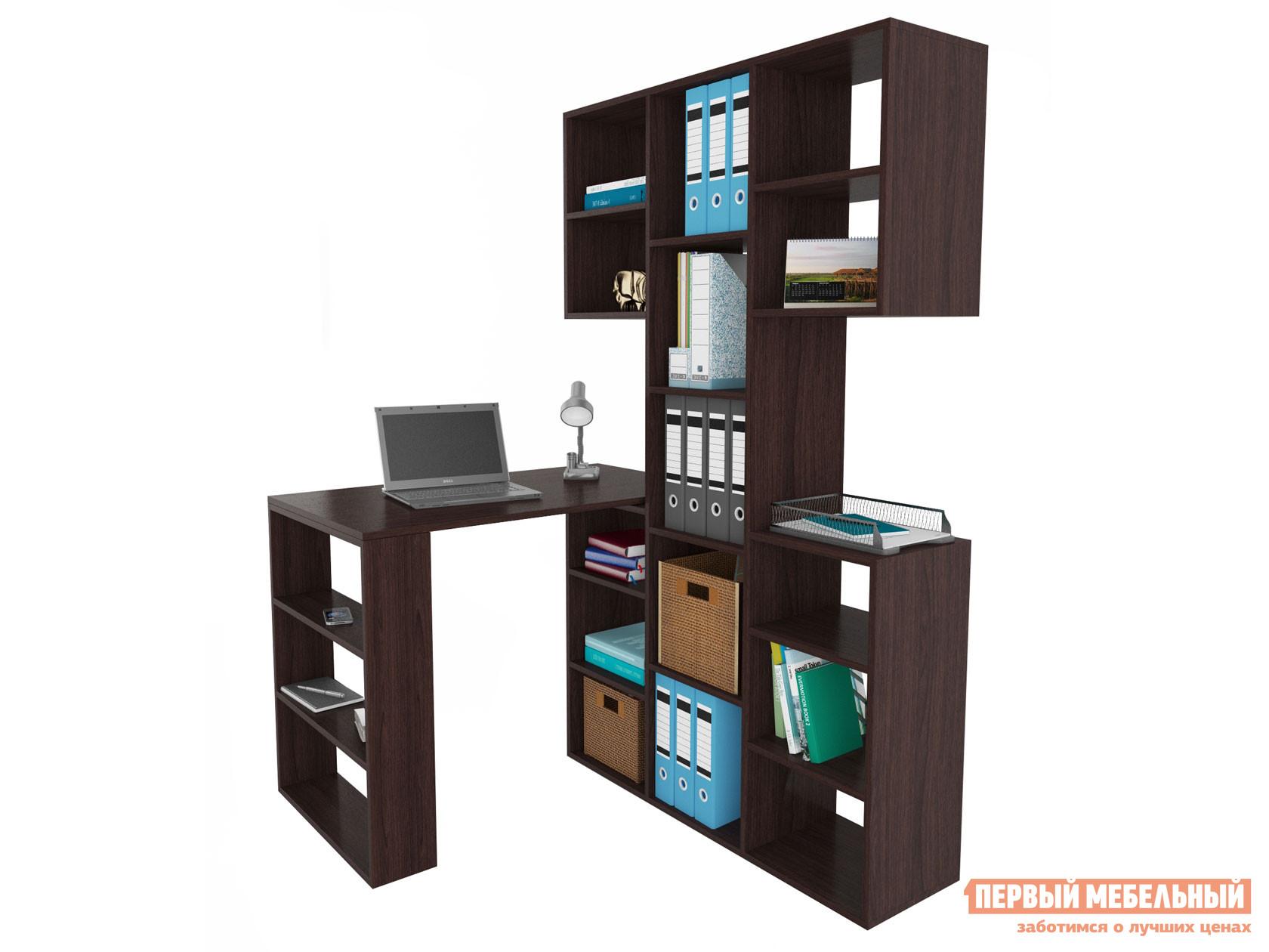 Угловой компьютерный стол МФ Мастер Рикс-3 + Рикс-5