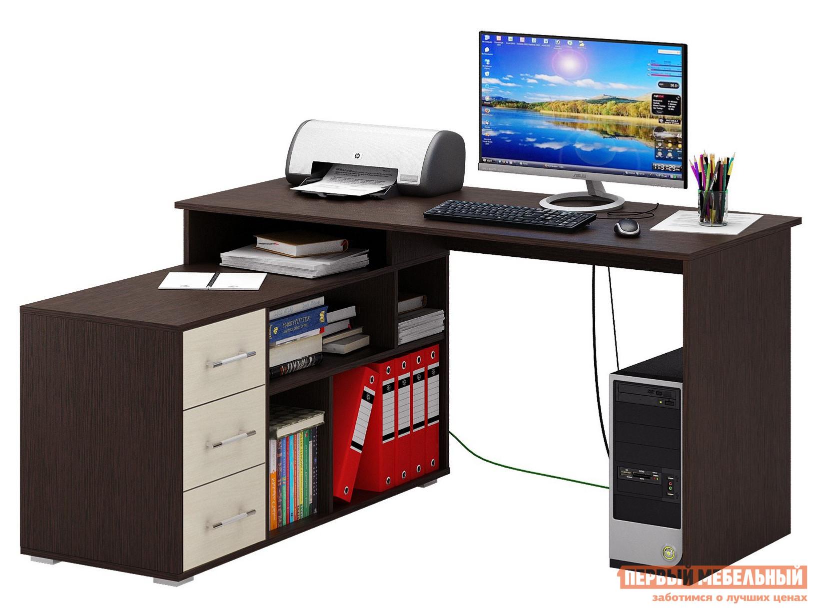 Компьютерный стол МФ Мастер Барди-2 угловой