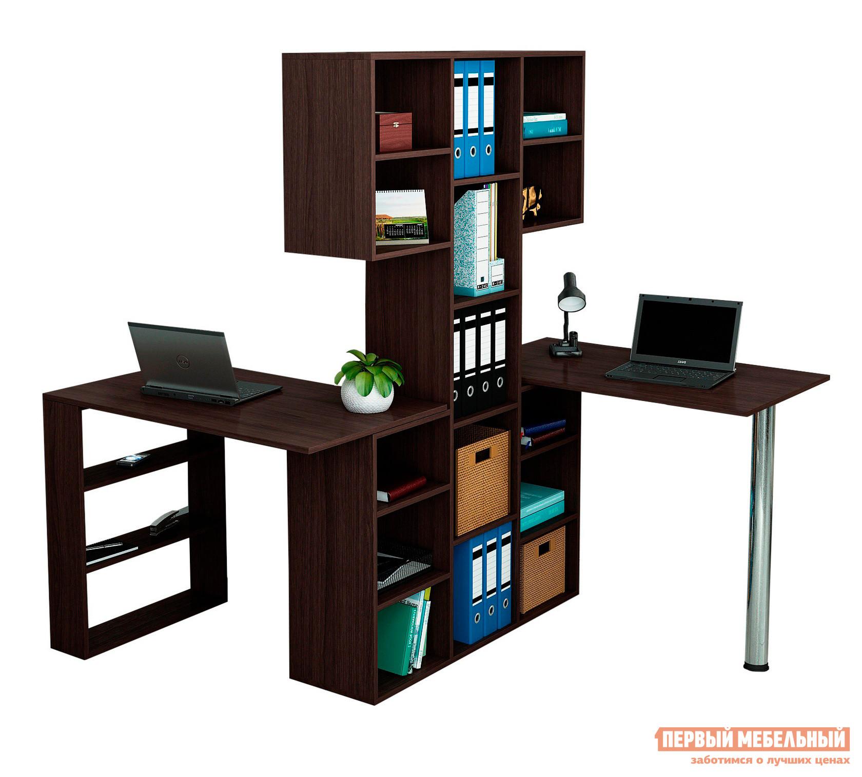 Компьютерный стол МФ Мастер Рикс-3 + Рикс-5 + Рикс-6 Венге