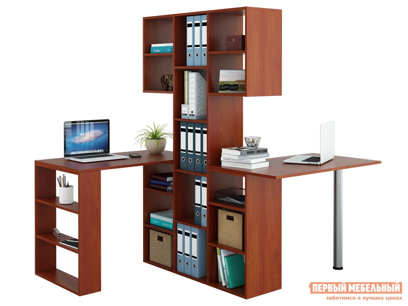 Угловой компьютерный стол МФ Мастер Рикс-3 + Рикс-5 Рикс-6