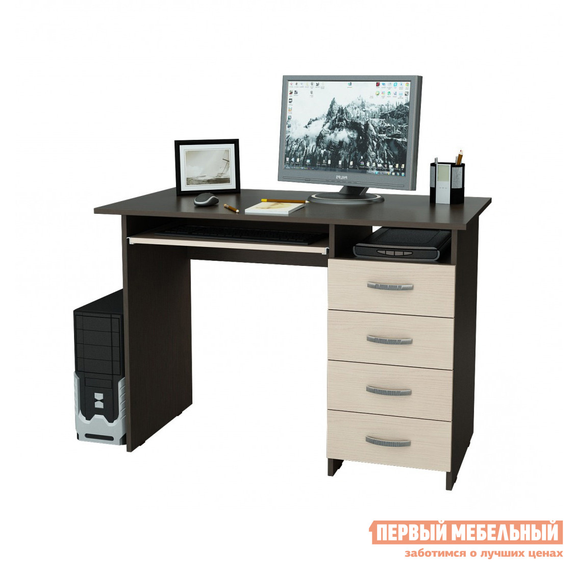 Компьютерный стол МФ Мастер Милан-3 paulmann 92617