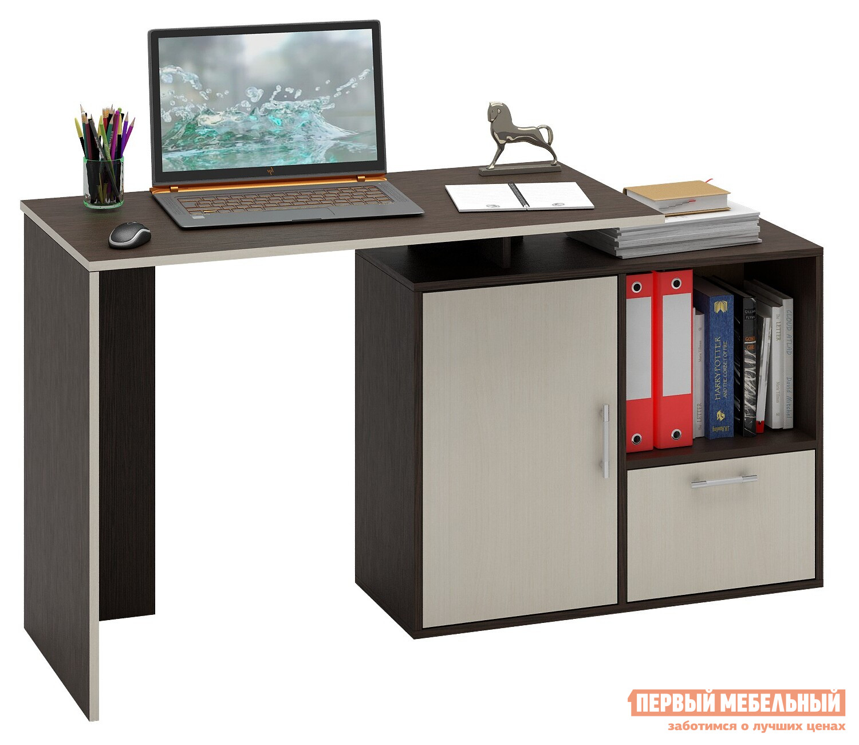 Компьютерный стол МФ Мастер Слим-3 прямой/угловой компьютерный стол мф мастер корнет 1 угловой