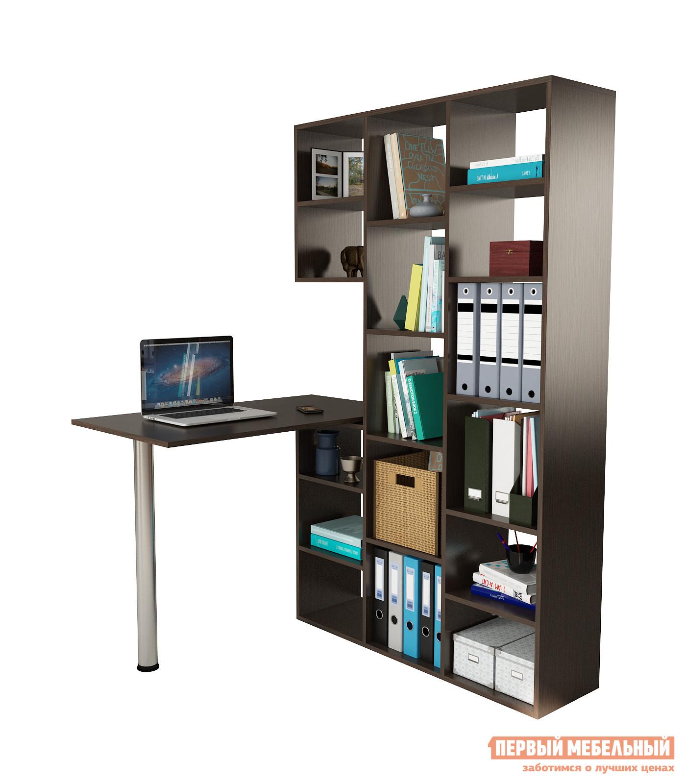 Компьютерный стол МФ Мастер Рикс-1 + Рикс-6 Венге