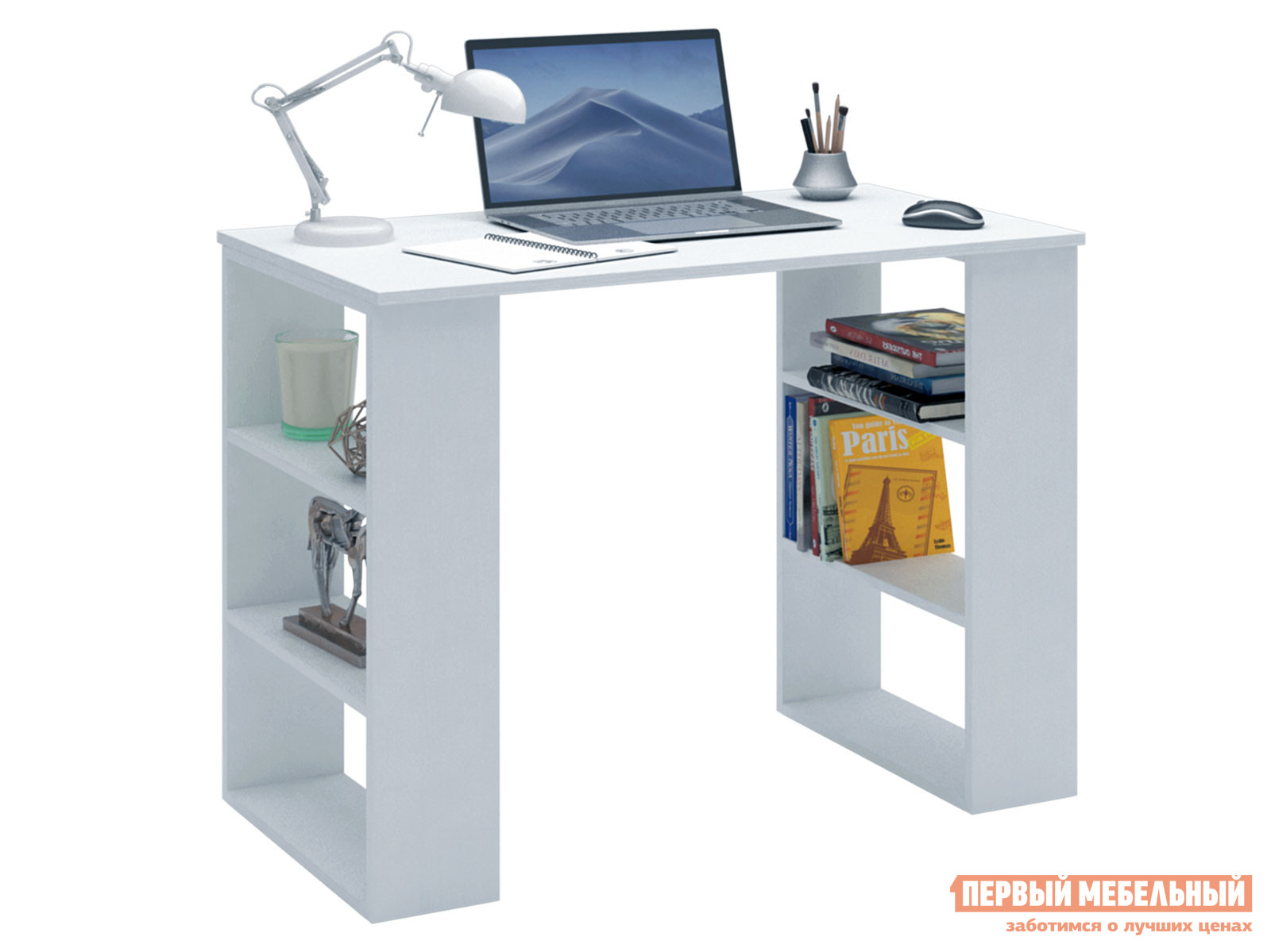 Письменный стол  Уно-7 Белый МФ Мастер 126270