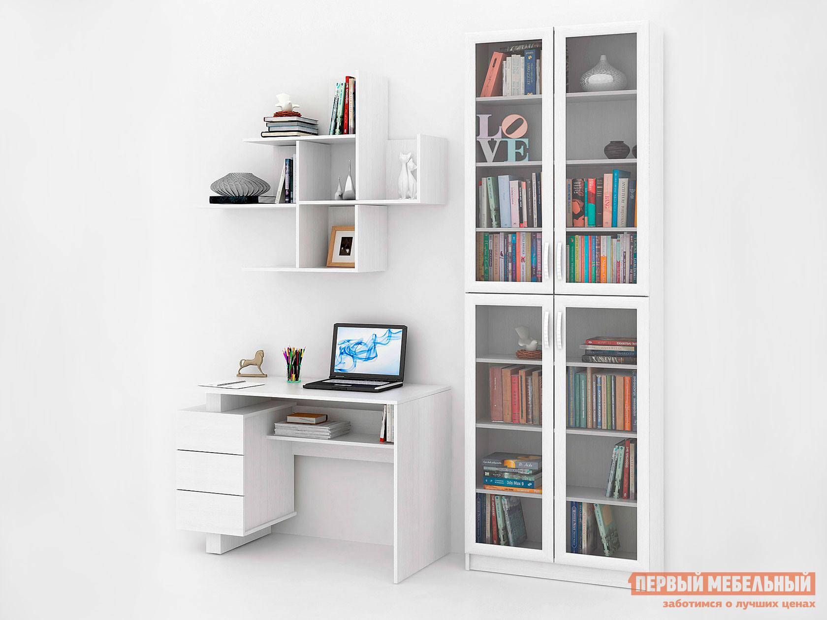 Компьютерный стол МФ Мастер Ренцо-2 + Милан-36 Файн-172