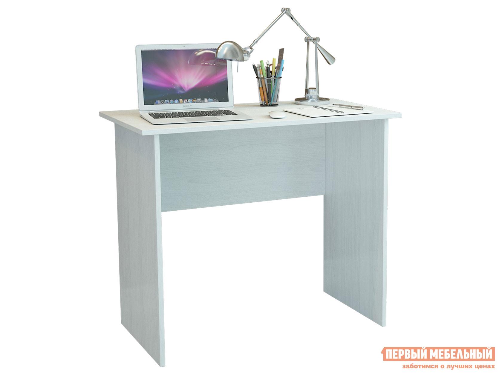 Компьютерный стол Милан-85 Белый фото
