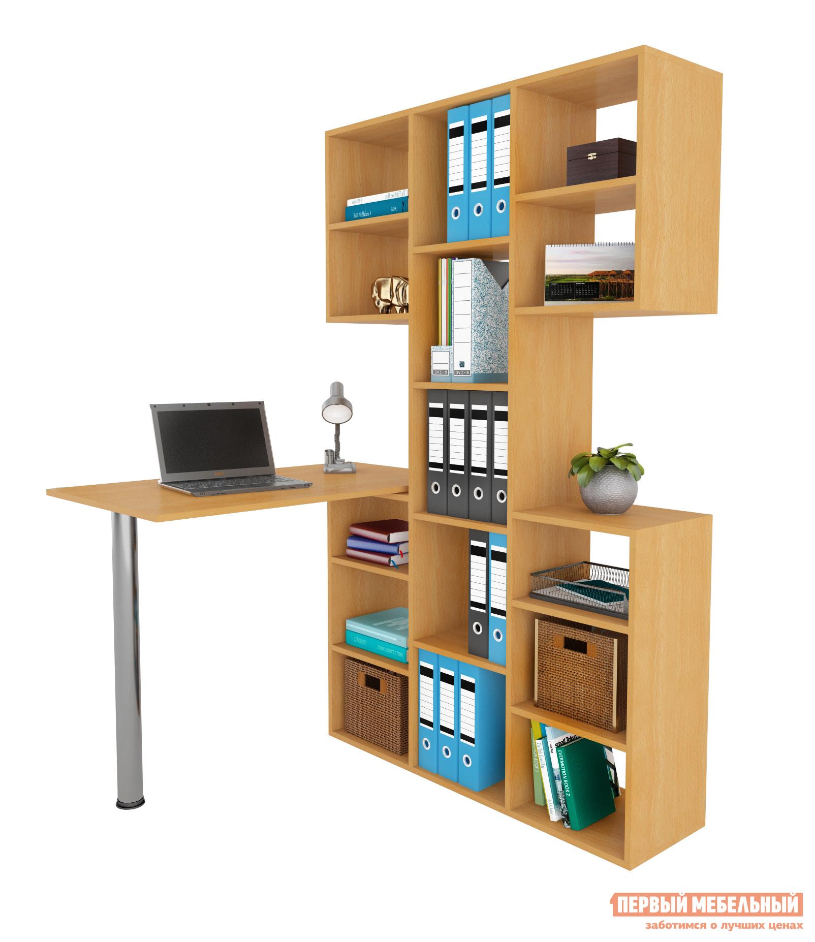 Компьютерный стол МФ Мастер Рикс-3 + Рикс-6 Бук