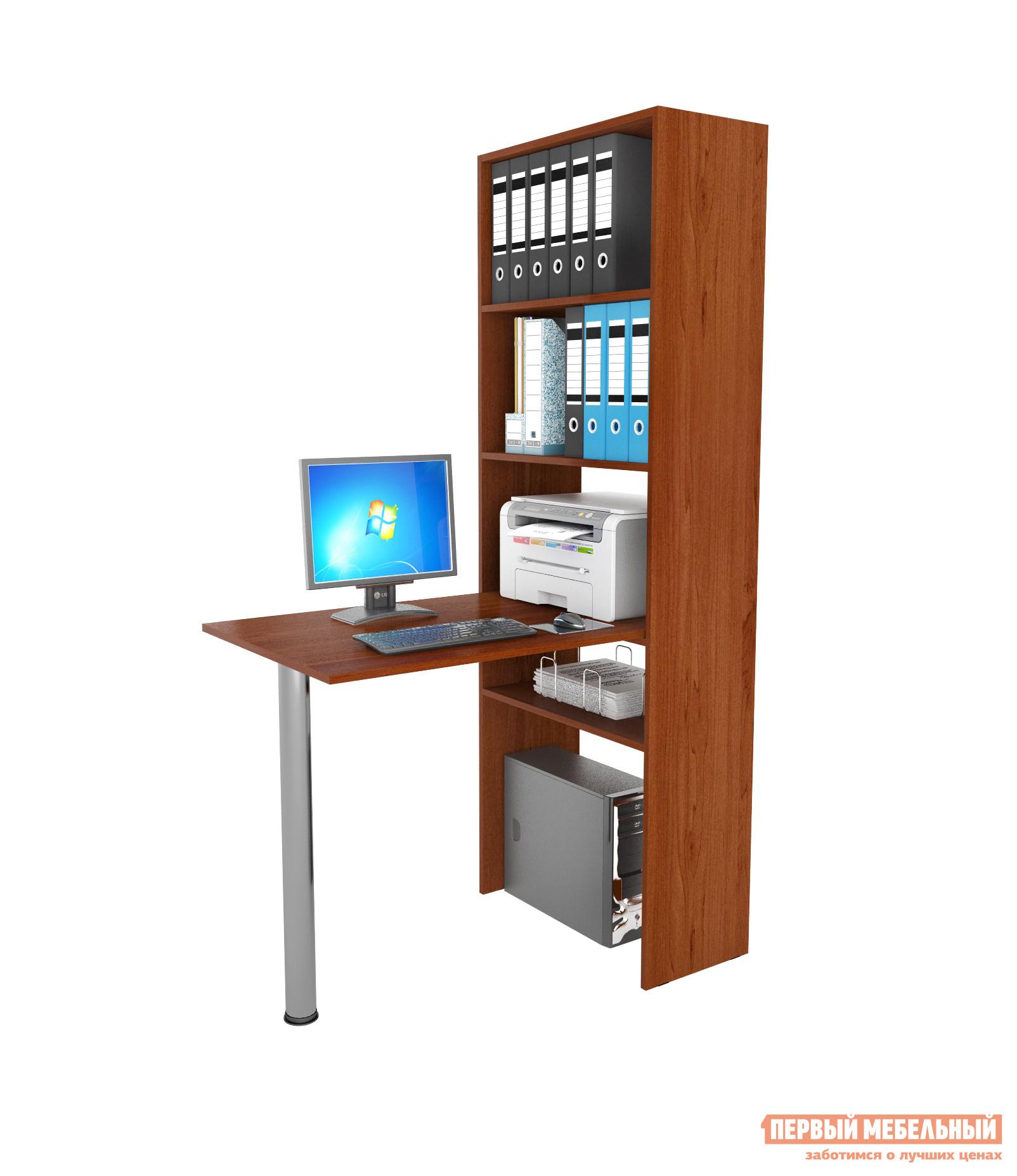 Компьютерный стол МФ Мастер Рикс-4 + Рикс-6 Орех Итальянский