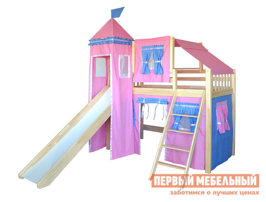 Кровать-чердак домиком из массива дерева Мебель-Холдинг Рыцарь-3 кровать из массива дерева symbol 1 8 1 5