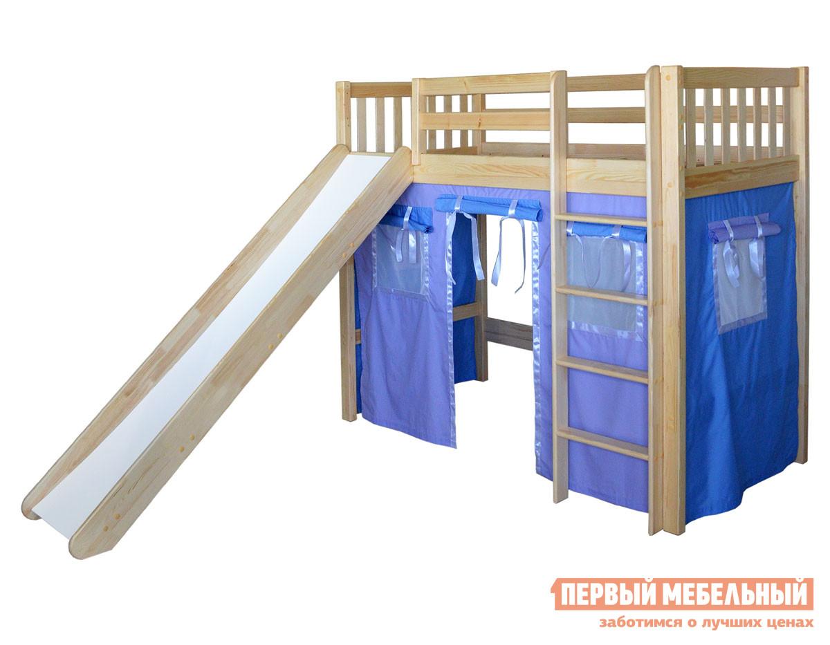 Кровать-чердак домик 160х80 Мебель-Холдинг Трубадур-4 кровать чердак сканд мебель леди 4