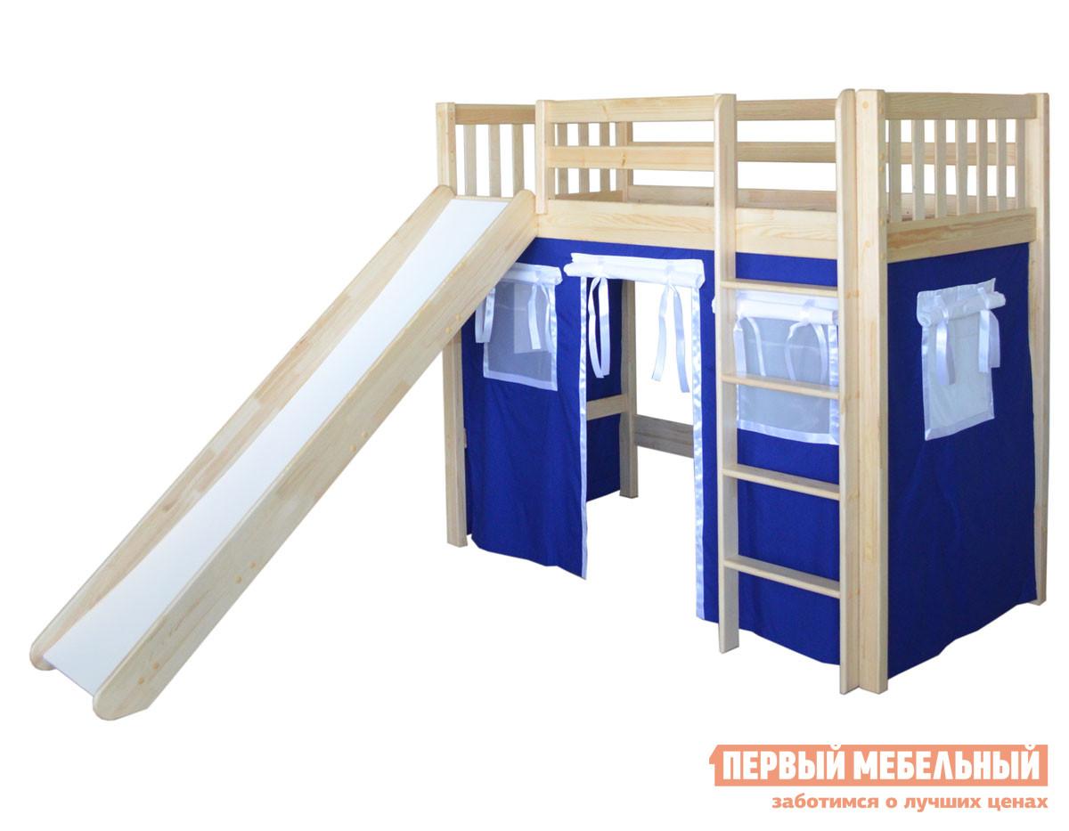 Детская кровать-чердак домик Мебель-Холдинг Трубадур-1 кровать чердак сканд мебель леди 4