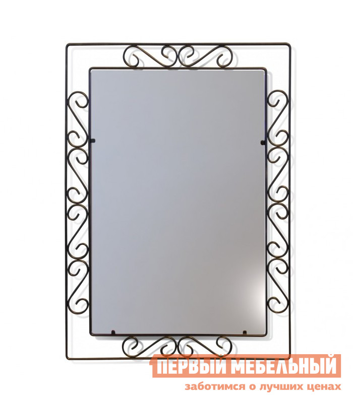 Настенное зеркало Sheffilton Грация 628 Черный