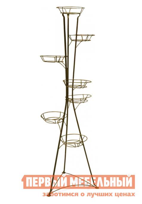 Цветочница Sheffilton Колонна семигоршковая (7019) Бронзовый антик от Купистол