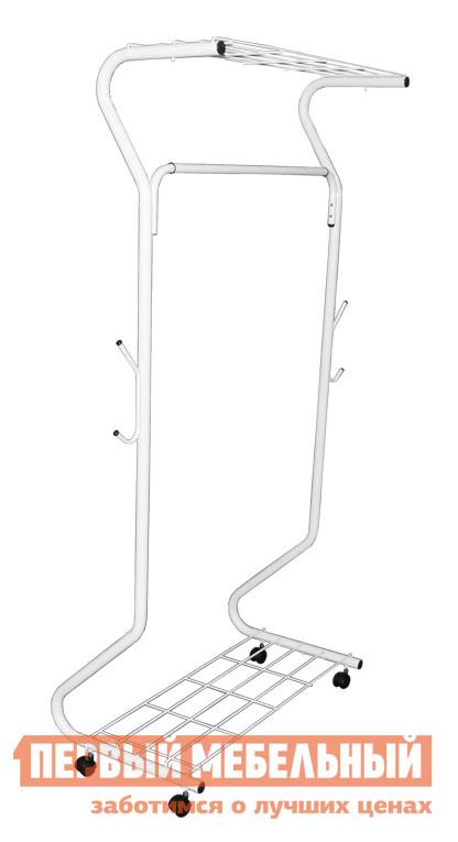 Гардеробная вешалка Sheffilton SHT-WR546 СерыйГардеробные вешалки<br>Габаритные размеры ВхШхГ 1700x780x460 мм. Многофункциональная гардеробная вешалка поможет вам навести порядок среди вещей.  Конструкцией предусмотрено две полки (для обуви и головных уборов), штанга для вешалок-плечиков и даже крючки для сумок или зонтов по бокам опор.  А благодаря колесикам вы сможете легко перемещать даже полную одежды вешалку. Максимальная нагрузка на штангу составляет 25 кг, расстояние от пола до штанги — 145 см. Ширина вешалки, включая боковые крючки, составляет 995 мм,  длина крючка —  107 ммИзделие выполнено из металлической трубы диаметром 28 мм и толщиной 0. 8 мм.  Сверху каркас покрыт специальной порошковой краской.  Фурнитура пластиковая.<br><br>Цвет: Серый<br>Цвет: Серый<br>Высота мм: 1700<br>Ширина мм: 780<br>Глубина мм: 460<br>Кол-во упаковок: 1<br>Форма поставки: В разобранном виде<br>Срок гарантии: 2 года<br>Материал: Металлические<br>Особенности: На колесиках, Дешевые