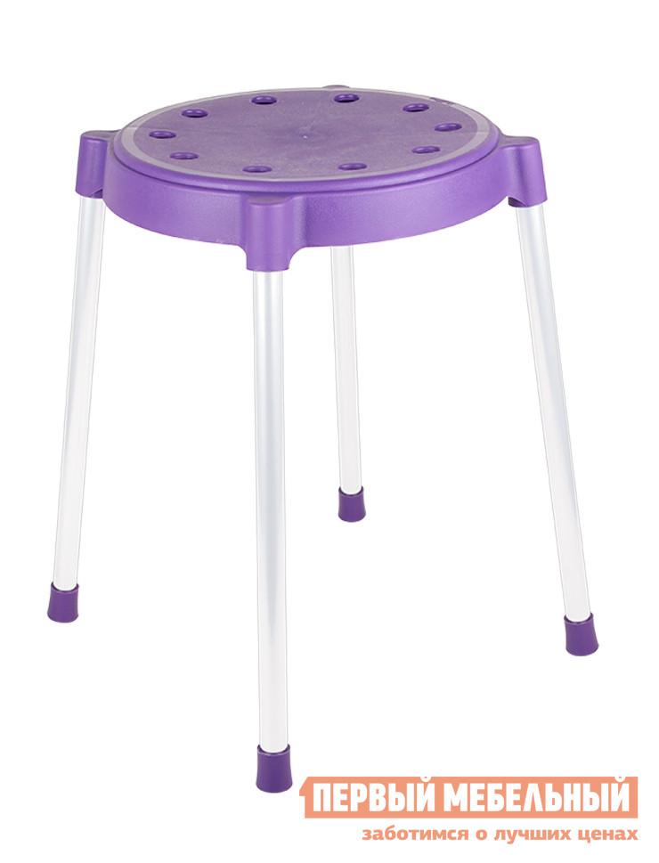 Табурет Sheffilton SHT-S36 Фиолетовый / Серый от Купистол