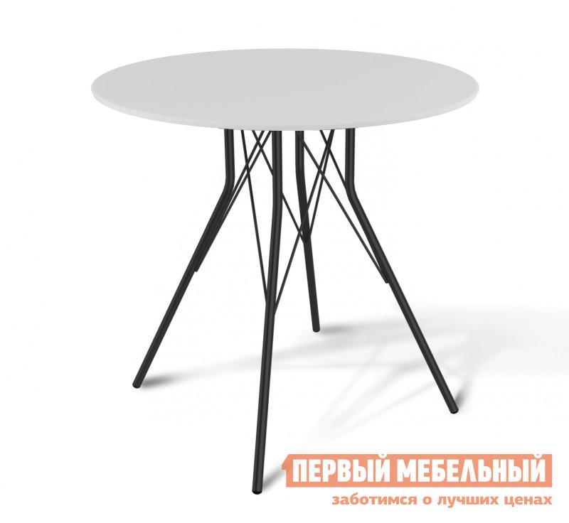 Кухонный стол круглый Левмар SHT-ТU2 + SHT-TT 80 МДФ