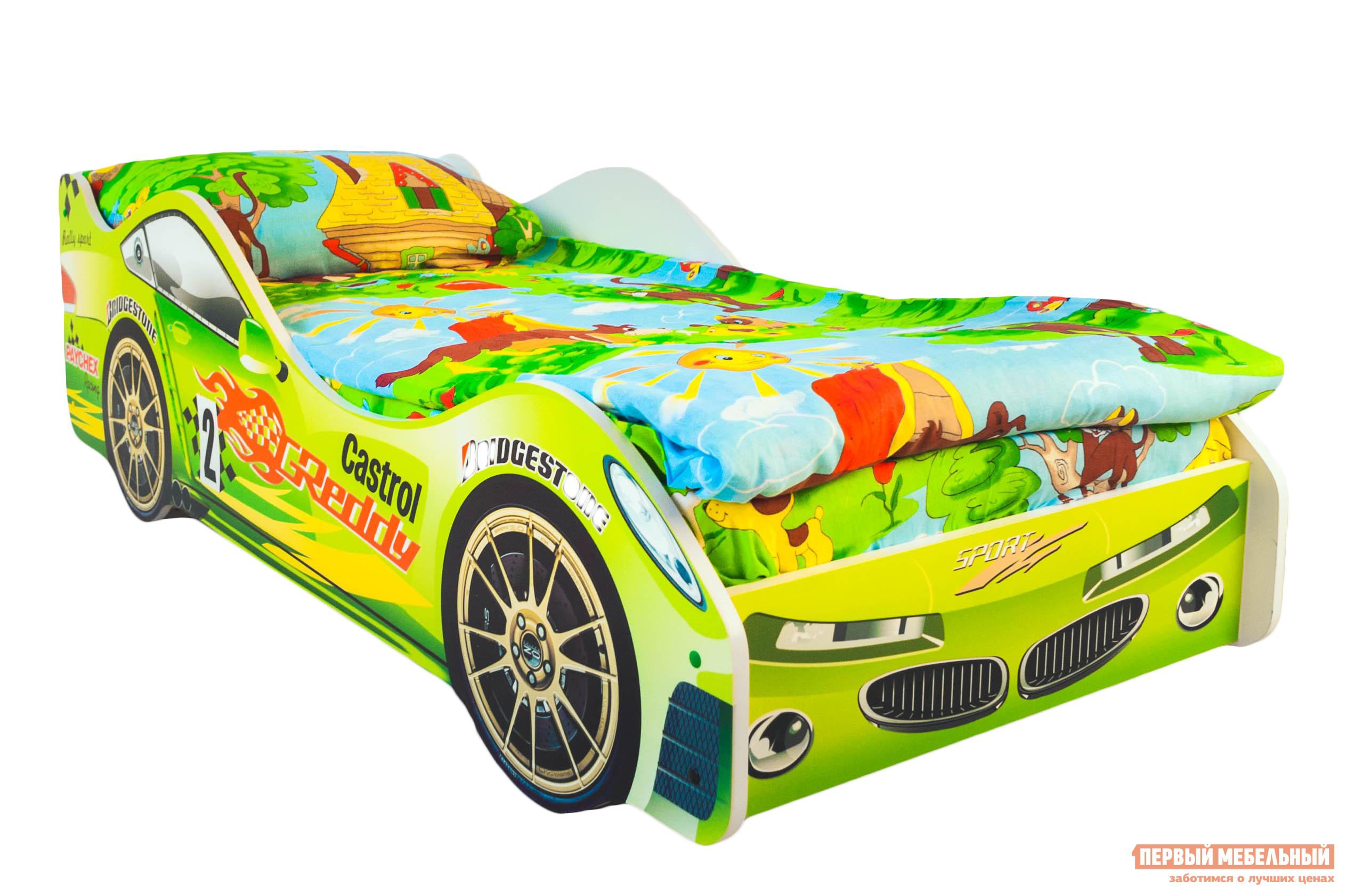Детская кровать-машина от 3 лет Бельмарко Вихрь
