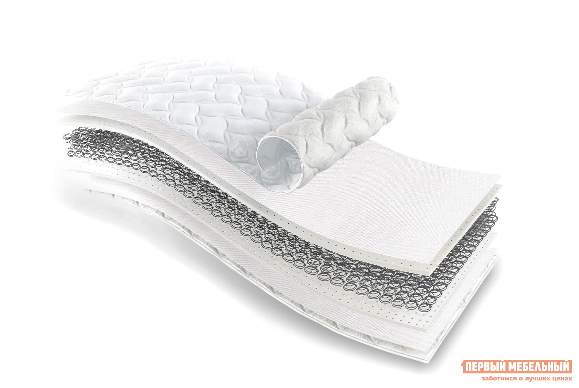 Матрас Бельмарко Дельта БелыйДетские матрасы<br>Габаритные размеры ВхШхГ 180x700x1600 мм. Ортопедический матрас средней жесткости поможет в формировании естественной правильной осанки. Пружинный блок «боннель», составляющий основу, обеспечивает требуемую жесткость и отличную амортизацию.  Во время ночного сна или отдыха тело расслабляется, нагрузка распределяется равномерно от макушки до ступней.  Наличие в составе матраса наполнителя лайтек дарят лежащему человеку ощущение приятной комфортной мягкости.  Чехол матраса изготовлен из износостойкой жаккардовой ткани, простеганной синтепоном.  Поставляется в скрученном виде, в вакуумной упаковке.  При этом матрас не деформируется, после распаковки принимает прежний вид. Размер спального места составляет 700х1600 мм.<br><br>Цвет: Белый<br>Высота мм: 180<br>Ширина мм: 700<br>Глубина мм: 1600<br>Кол-во упаковок: 1<br>Форма поставки: В разобранном виде<br>Срок гарантии: 1 год<br>Тип: До 80 кг<br>Тип: До 100 кг<br>Тип: До 90 кг<br>Тип: До 70 кг<br>Тип: Ортопедические<br>Тип: До 110 кг<br>Назначение: Детские<br>Размер: 70Х160 см<br>Высота: 16 — 25 см<br>В рулоне: Да<br>Жесткость: Средняя<br>Пружинный блок: Боннель<br>Пружинный блок: Пружинный<br>Наполнение: Войлок