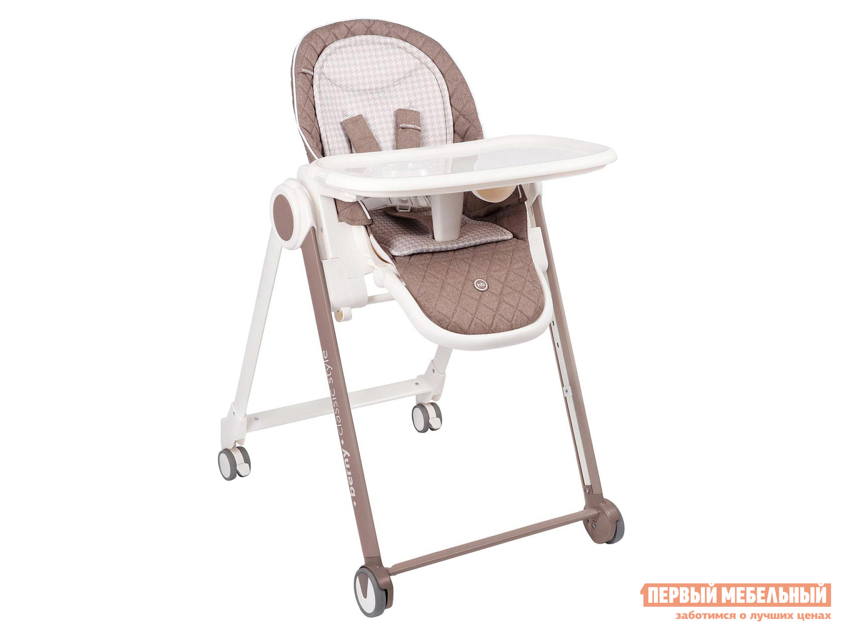 Стульчик для кормления Опт-Юнион Стул для кормления BERNY BASIC стул для кормления happy baby berny basic beige