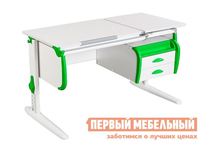 Парта Дэми СУТ.25+ТСН.01-01 Белый / Зеленый