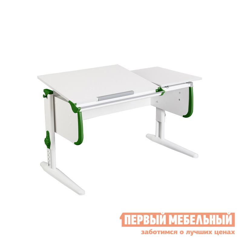 Парта Дэми СУТ.25 Белый / Зеленый
