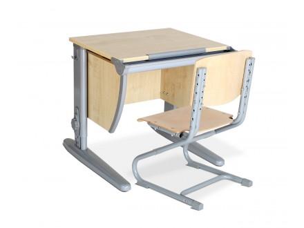 Парта со стулом СУТ.13+СУТ.01-01 (фанера) Гарри + стул (фанера)