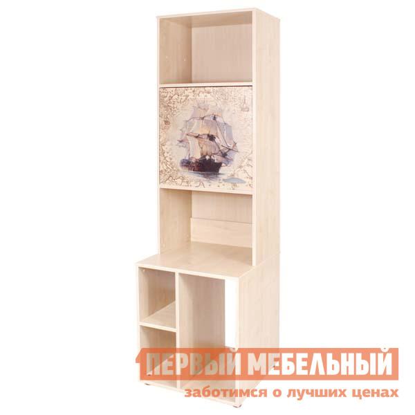 Детский стеллаж Дэми СМД 03-02 (СМД 02 (с дверкой) + Тумба СМД 03 (Тумба под системный блок)) системный блок