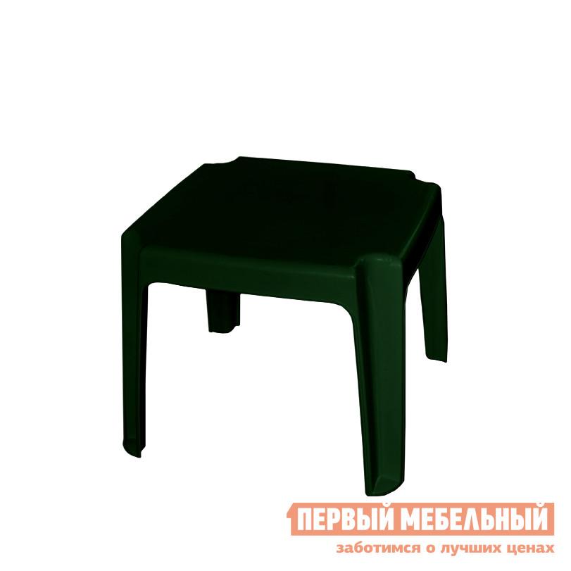Пластиковый стол Алеана Столик для шезлонга Темно-зеленый