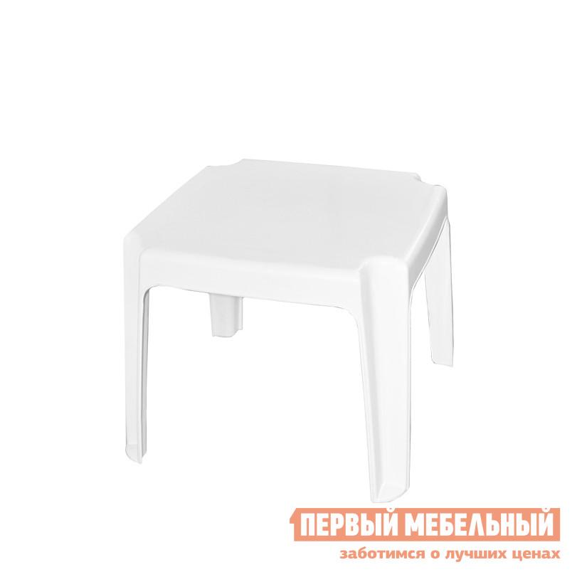 Пластиковый стол  Столик для шезлонга Белый