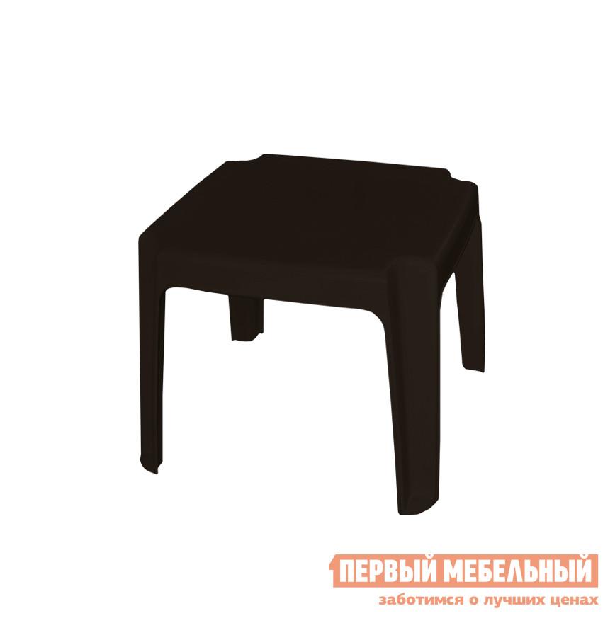 Пластиковый стол Алеана Столик для шезлонга Шоколадный